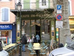 老舗カフェ・ド・フランス